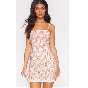 PrettyLittleThing sequence dress